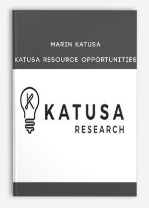 Marin Katusa – Katusa Resource Opportunities