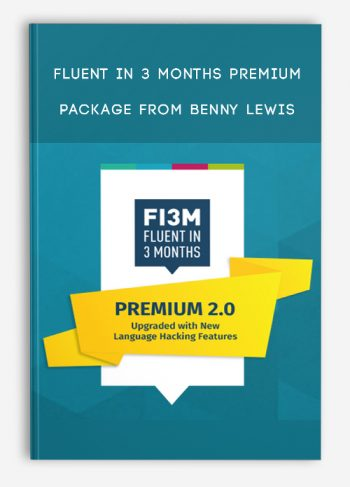Fluent in 3 Months Premium Package from Benny Lewis