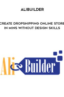 AliBuilder – Create Dropshipping Online Store In Mins Without Design Skills