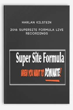 2016 Supersite Formula Live Recordings by Harlan Kilstein
