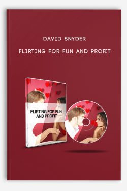 Flirting For Fun and Profit by David Snyder