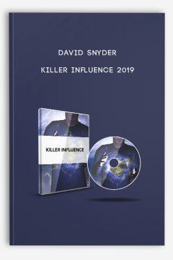 Killer Influence 2019 by David Snyder
