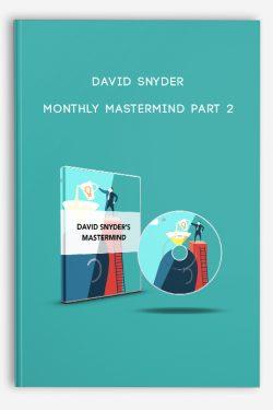 Monthly MasterMind Part 2 by David Snyder