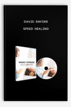 Speed Healing by David Snyder